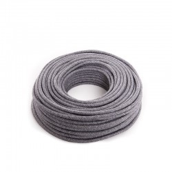 Cable Lona Gris Claro 2X0,75   X 1M [AM-AX540]