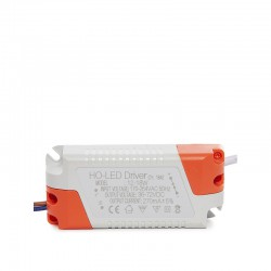 Driver No Dimable 0.95 F.P. 50.000H Downlights LED 12W